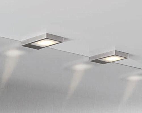 LED Einbauleuchte Unterbauleuchte 4W Edelstahloptik 2 Er Set Küchenleuchte  *31191: Amazon.de: Beleuchtung