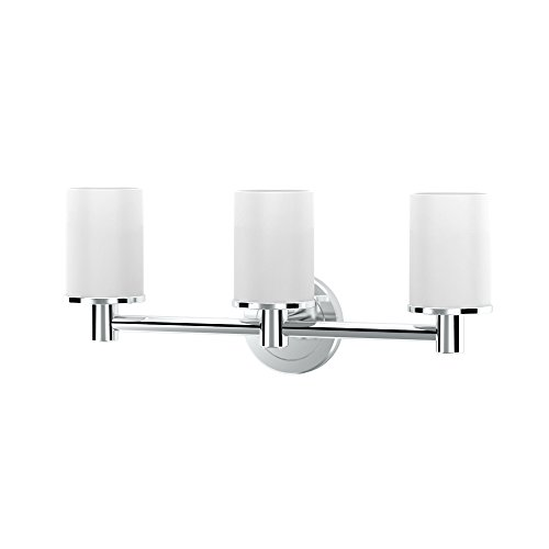 Gatco 1686 Latitude II Triple Sconce Light, Chrome ()