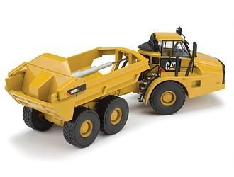 CAT 740B Articulated Dump Truck with Ejector Body Diecast Model Truck by Norscot Cat Articulated Dump Truck