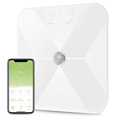 Etekcity Digital Body Weight Scale with Step-on Technology,