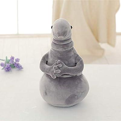 UEESTORE Hot Waiting Plush Toy Zhdun Meme Tubby Gray Blob Zhdun Plush Doll Toys Homunculus Loxodontus (35cm): Sports & Outdoors