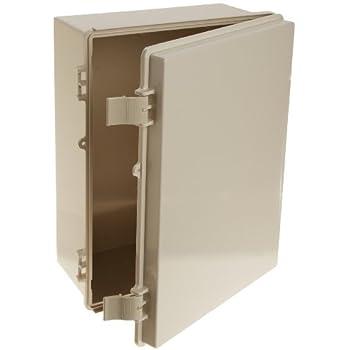 ENCLOSURE WALL MNT HINGED DOOR ABS Fnl NBF32026