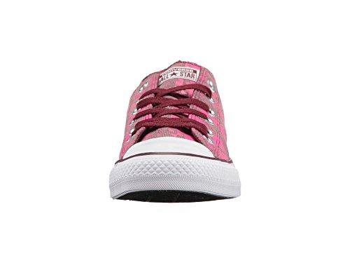 Bordeaux Deep Ox Womens Taylor 8 Converse 549683F Neon Pink Chuck SZ qX7wUIInHC