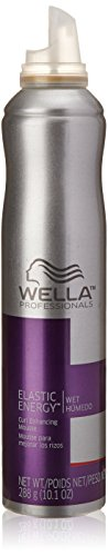 Wella Elastic Energy Curl Enhancing Mousse for Unisex, 10.1 Ounce