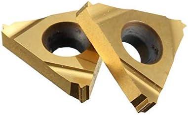 LKK-KK 10pcs 16ER 24UN SMX35 Carbide Inserts for SER Turning Tool Holder Boring Bar Boring Inserts
