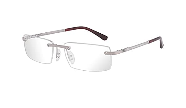 d8df7662daf Amazon.com   Porsche Design P8238 Eyeglasses 8238 Men frame Matte Titanium