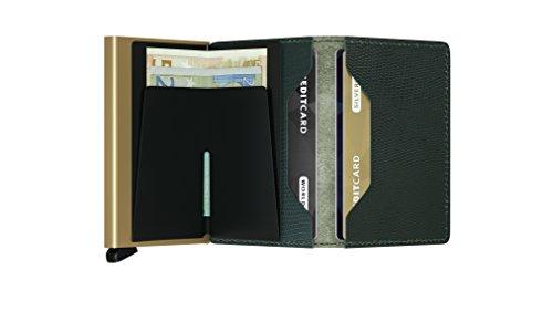 Max Slim Rango Gold Cards 12 Wallet Green Rfid Genuine Men Black Case Card Secrid Vintage Leather TxUvWq