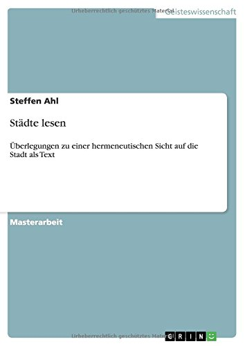 Download Städte lesen (German Edition) pdf
