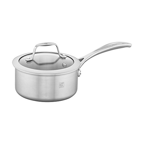 y 1-qt Stainless Steel Saucepan (Spirit Stainless Steel)
