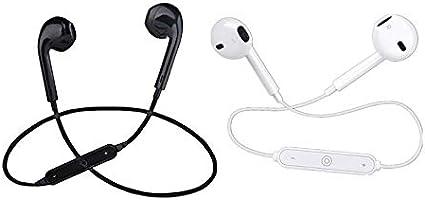 Prima05Sally Mini Auricolare alla Moda S6 Alto Effetto sonoro Musica Auricolari Sportivi Senza Fili Microfono Vivavoce per Mani libere