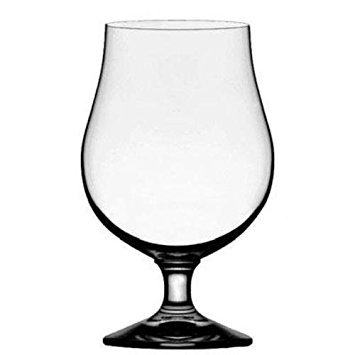 (Stolzle Berlin Beer Crystal Glass - Belgian Tulips Style, 16 Ounce, Set of 4)
