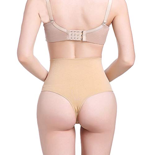 YANBAA High Waist Trainer Tummy Slimming Control Body Shaper Thong Seamless Sexy Cincher Panties