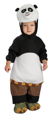 Kung Fu Panda Romper And Head Piece Po, Po Print, 0-9 Months (12 to 17 Pounds) (Kung Fu Panda Halloween Costumes For Toddlers)