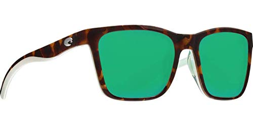 Costa Panga Multi-Color Plastic Frame Green Mirror Lens Unisex Sunglasses ()