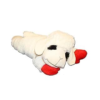 Multipet 48388 Multipet's Officially Licensed Lamb Chop Jumbo White Plush Dog Toy, 24-Inch