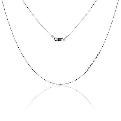 1mm Diamond Cut Bead Chain - 7