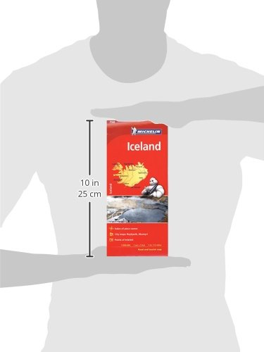 Michelin Iceland Map 750 (Michelin Map)