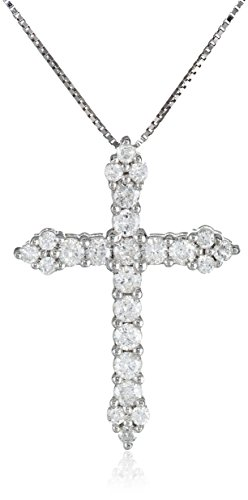 White Diamond Pendant Necklace Clarity
