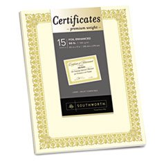 SOUCTP1V - Southworth Premium Certificates