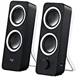 Logitech Multimedia Speakers Z200 with Stereo Sound for Multiple Devices - Black