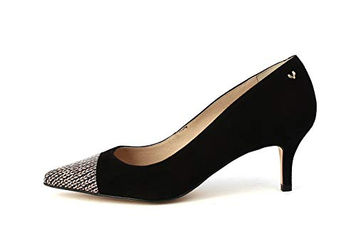 Tacón De Con Zapatos Negro Martinelli 1376 Cerrada Mujer Turia Para Punta black StwEtnTxq