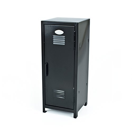 Black Mini Metal Locker - Childrens Storage by RI Lockers