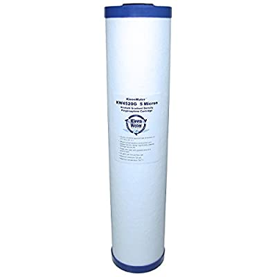 Pentek DGD-5005-20 Compatible Filter, KleenWater PWF4520G-BB Big Blue Whole House Alternative Water Filter, Replacement Cartridge for Dirt Rust Sediment Filtration