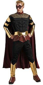 DC Comics Watchmen Muscle Chest Ozymandias Costume, Adult (Watchmen Characters Costumes)