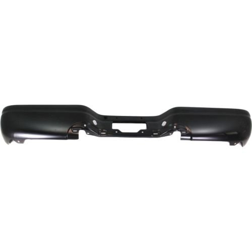 - Make Auto Parts Manufacturing - F-SERIES 97-07 STEP BUMPER, Black, Steel, Styleside, Standard/Extended Cab - FO1102305