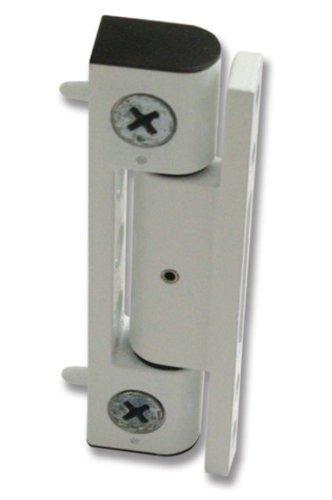 White uPVC Door Flat Butt Hinge - 100mm Hinge - Double Glazed Door Hinge  sc 1 st  Amazon UK & White uPVC Door Flat Butt Hinge - 100mm Hinge - Double Glazed Door ...