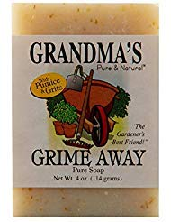 Grandma's Pure & Natural Gardener's Grime Away – 4 oz | Professionally Formulated to Scrub Away Dirt & Grime | Removes Strong Odors While Leaving Skin Soft & Supple