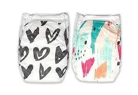 Parasol Plush Baby Diaper, Dream Collection, Size 1, 66 Count Parasol Co