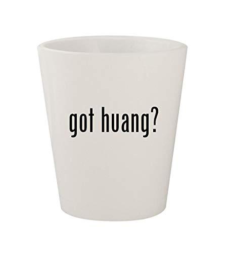 got huang? - Ceramic White 1.5oz Shot Glass