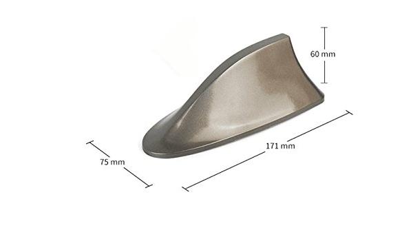 Antena de aleta de tiburón para coche, accesorio de reajuste ...