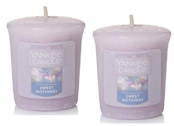Yankee Candle 2 Pack Sweet Nothings Votive Candles. 1.75 Oz.