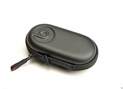 Beats by Dr Dre Studio PowerBeats In Ear Hard Black Zipper Headphone Carrying Case with Inner Pouch