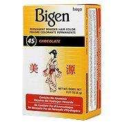 Bigen Powder Hair Color #45 Chocolate 0.21oz (6 Pack)