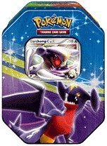 Pokemon Platinum Fall 2009 Collector Tin Set Garchomp with Garchomp C LV.X (Pearl Collectors Tin)
