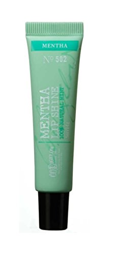 0.5 Ounce Bath Shower - C.O. Bigelow Mentha Lip Shine Peppermint Lip Gloss Formula No 502 Bath & Body Works NEW STYLE PACKAGING