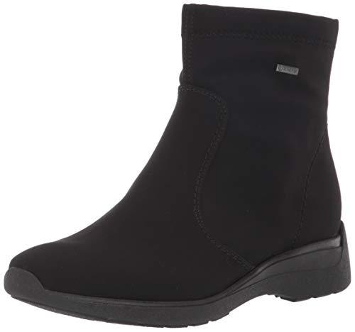 ara Women's Piera Ankle Boot, Black Fabric, 7 Medium UK (9.5 US)