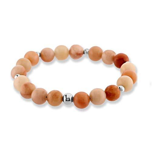 - Believe London Chakra Bracelet Anxiety Gemstone Crystal 7 Chakra Natural Stone Healing Men Women Stress Relief Reiki Yoga Diffuser Semi Precious (Sunstone 7