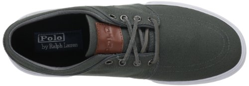 Polo Ralph Lauren Men's Faxon Low Sneaker,Deepgrey/Polo Black,11 M US