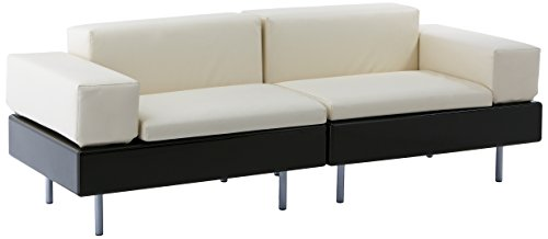 Slide Design SD HAP120 FT Happylife Modular Sofa in Standard Colours, Miiky White