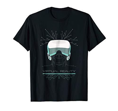 Mens Virtual Reality TShirt   VR Games Shirt