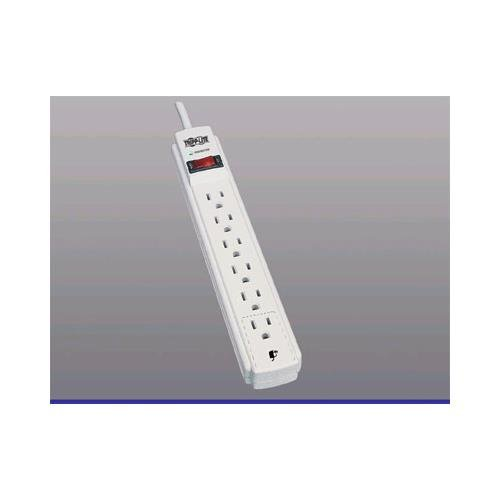 TRIPP LITE 6-outlets 6ft-cord 750-joules surge protector TLP606