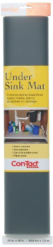 Con-Tact Brand Non-Adhesive Under Sink Mat, 24-Inches by 48-Inches, (24