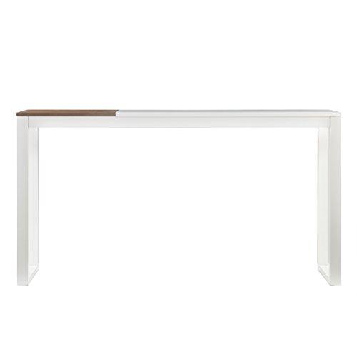 (Holly & Martin Lydock Media Console Table, White Finish )