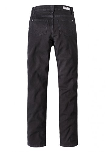 Black straight Black Donna Jeans Basic Paddocks 6001 SqxwTgxacn