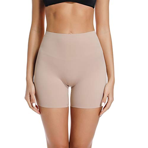 (Seamless Boyshort Panties for Women Anti Chafing Shorts Smooth Slip Short Panty Boxer Briefs)