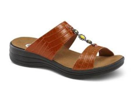 Dr. Comfort Women's Sharon Sandal: Peanut Brittle 11 Medium (A/B)